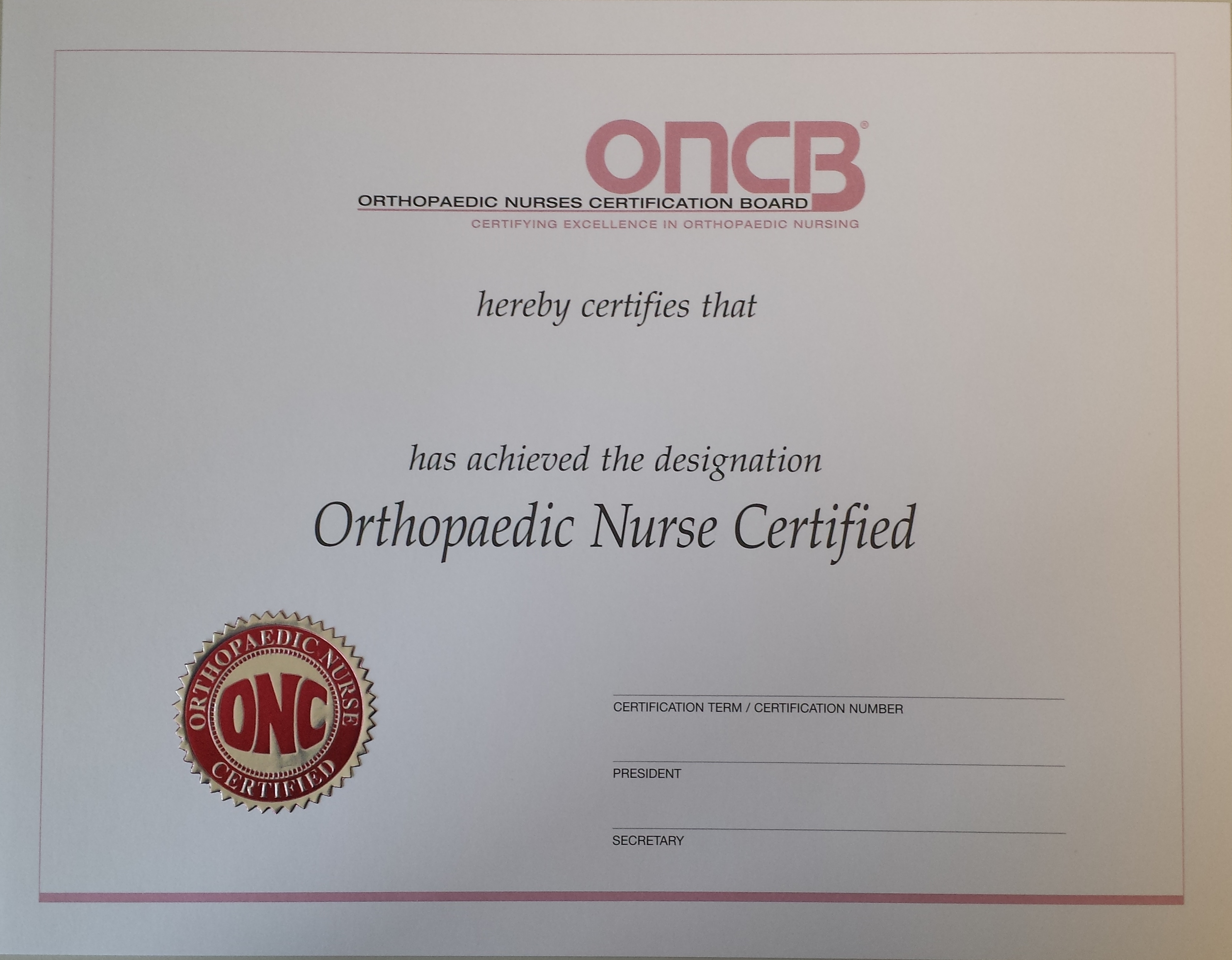 Onconp cocns c replacement certificate 1betcityfo Image collections